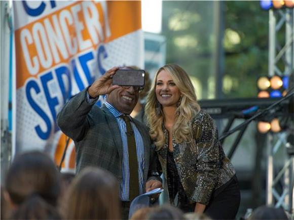 Carrie Underwood Wows The Today Show