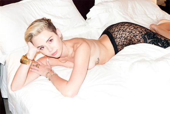Whoops There It Is: A Miley Cyrus Nipple