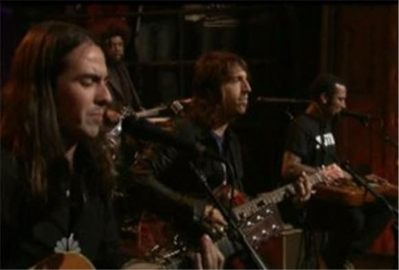 late night: fistful of mercy feat. tom morello