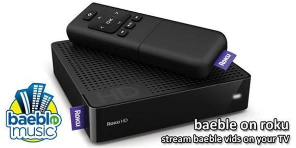 announcing: baeble on roku