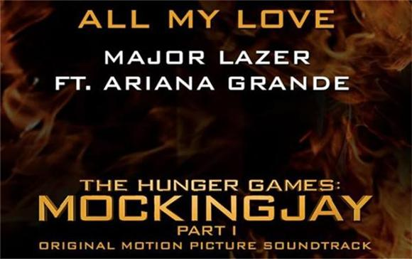 Listen: Ariana Grande And Major Lazer's 'Mockingjay' Track Is Here