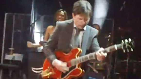 Watch: Michael J. Fox Plays Guitar