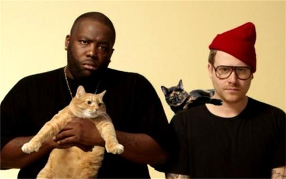 Run The Jewels Meet With Fan Behind Meow The Jewels