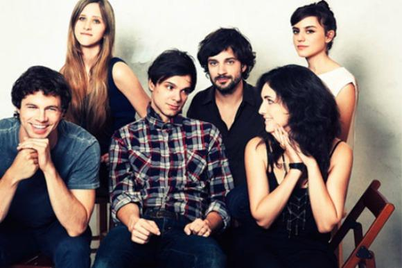 Dirty Projectors, Shirtless Man Play Letterman