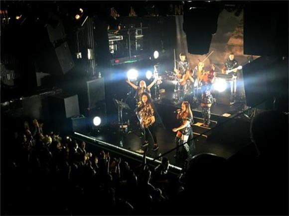 Clean Bandit Puts On An Electrifying Show At Irving Plaza