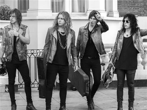 The Struts Glam It Up In 'Kiss This'