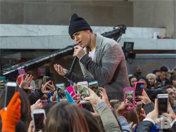 Justin Bieber Takes Over The Today Show