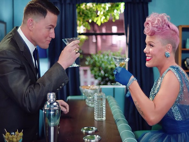 P!nk and Channing Tatum Are The Cutest Couple in'Beautiful Trauma Video