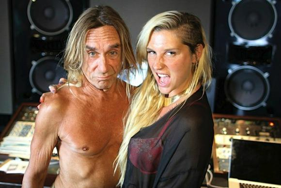 Kesha and Iggy Pop Duet in 'Dirty Love'