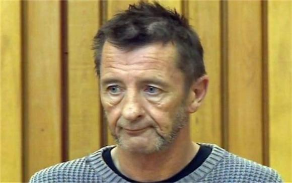 ACDC's Phil Rudd Acts Out At Court Appearance