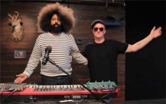 Josh Homme and Reggie Watts Make Sweet Love Music