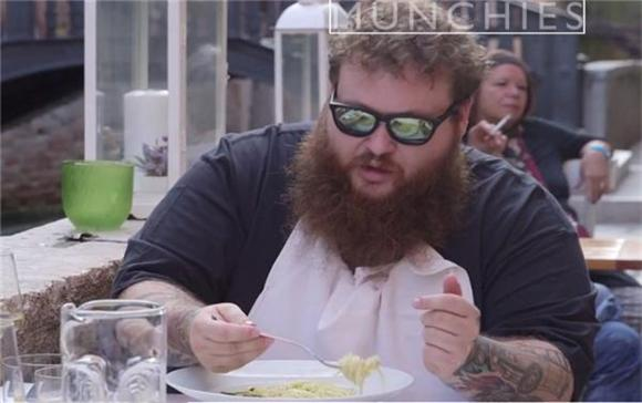 Action Bronson Does No Reservations The Right Way in 'Fuck, That's Delicious'
