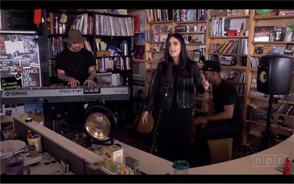 Banks Sits At The Tiny Desk
