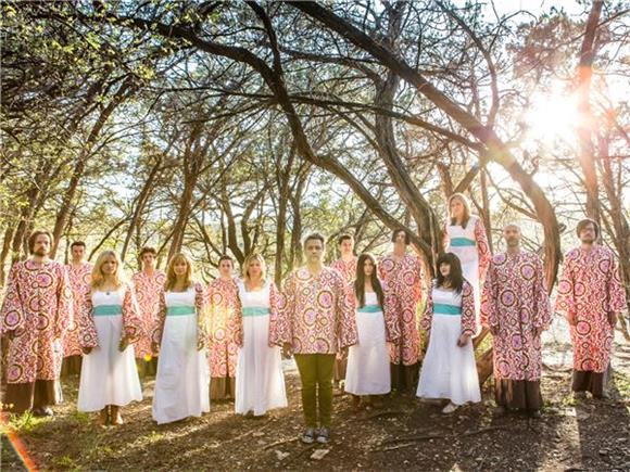 Feeling Like Part Of The Band: The Polyphonic Spree at Highline Ballroom