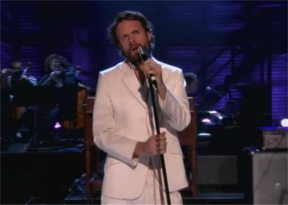 Father John Misty on Conan