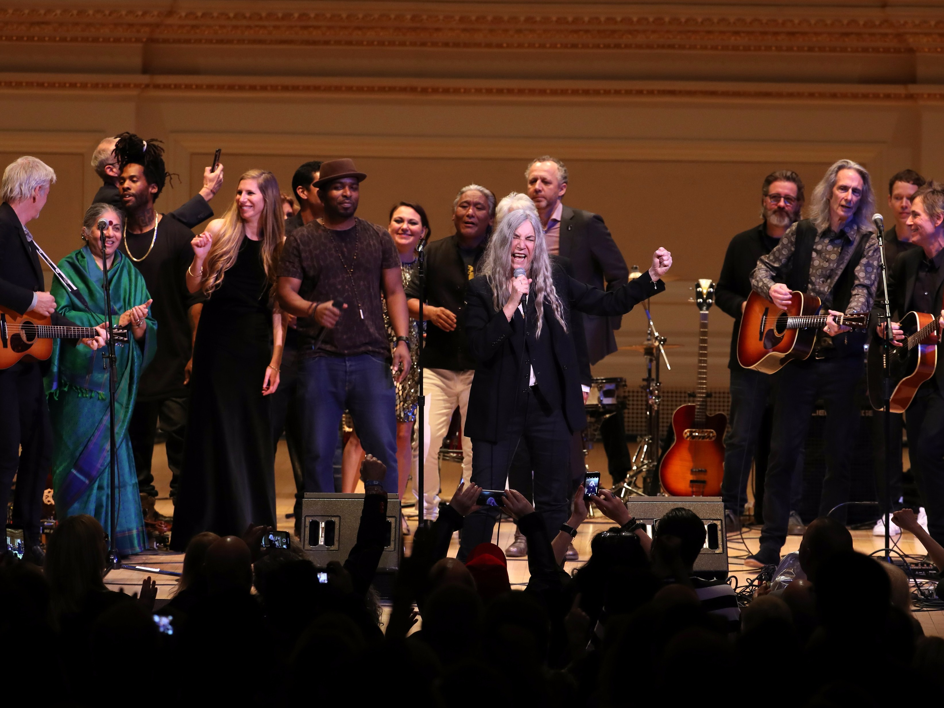Pathway To Paris Lights Up Carnegie Hall with Guests Patti Smith, Michael Stipe, and More