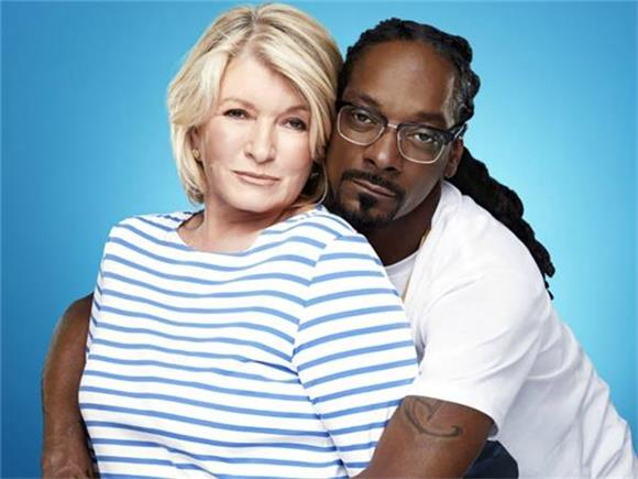 We Can't Wait To Watch Snoop Dogg and Martha Stewart Cook Stuff Together