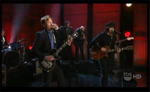 late night: conan and jack white