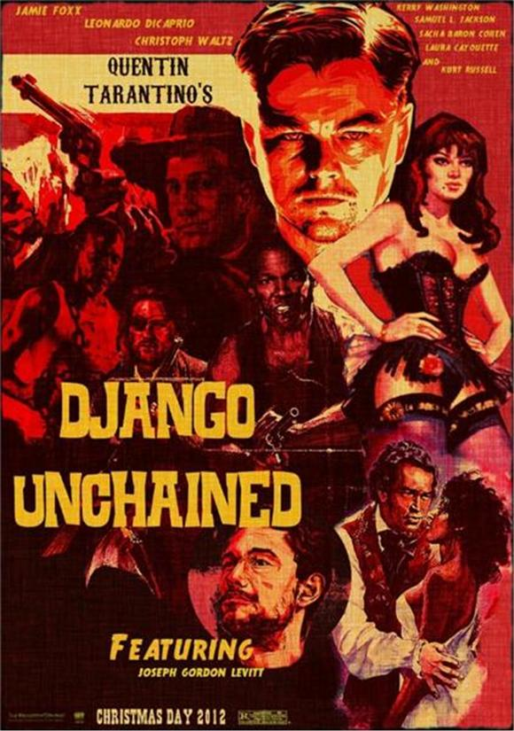 James Brown and 2Pac in Django Unchained Theme