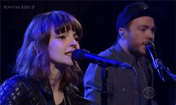 CHVRCHES Say Farewell to the US on Letterman