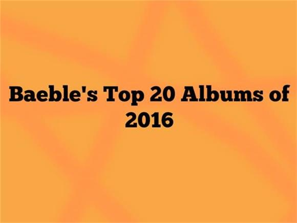 The Top 20 Albums of 2016