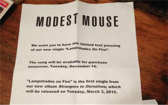 Modest Mouse Announce Release Date For New Album