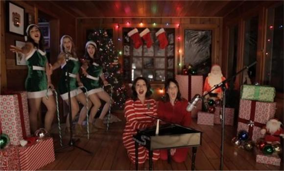 Alison Brie's The Girls and Zabruso Offer a Cynically Sexy Christmas