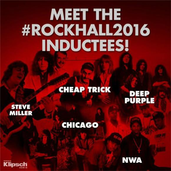 The Rock And Roll Hall Of Fame Continues To Be A Joke With 2016 Inductees