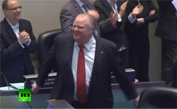 Watch Mayor Rob Ford Dance Like Your Drunk Uncle to Reggae