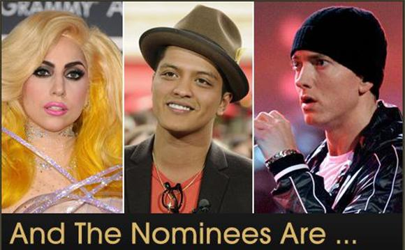 the 2010 grammy nominations