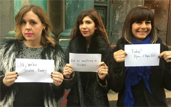 Sleater Kinney Debut New Track In Reddit AMA