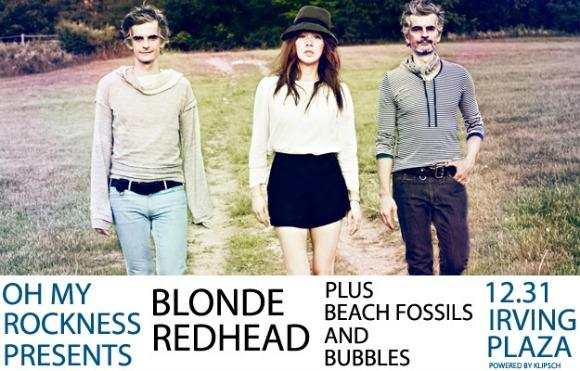 Win Tickets to Blonde Redhead's New Year's Bash