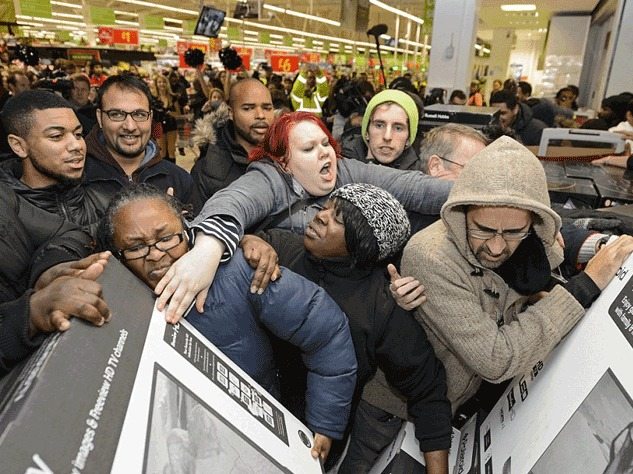 The Intolerable Christmas Shoppers You'll Encounter This Year... In Song!