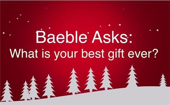 Watch: Baeble Asks 'What's Your Best Holiday Gift?'