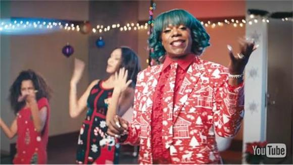 Big Freedia's Video For 'Make It Jingle' Isn't Your Typical Holiday Production