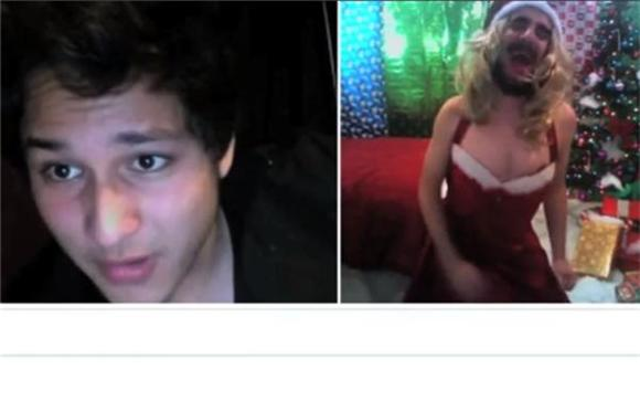 Chatroulette Guy Strikes Again, With Holiday Spirit