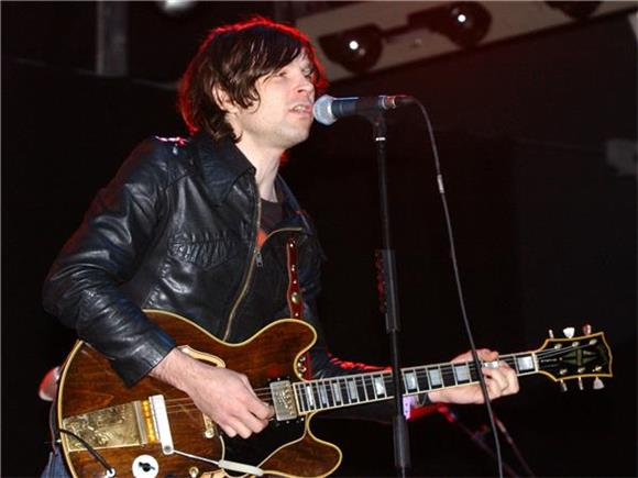 Ryan Adams Joins Jesse Malin On Stage At Bowery Ballroom