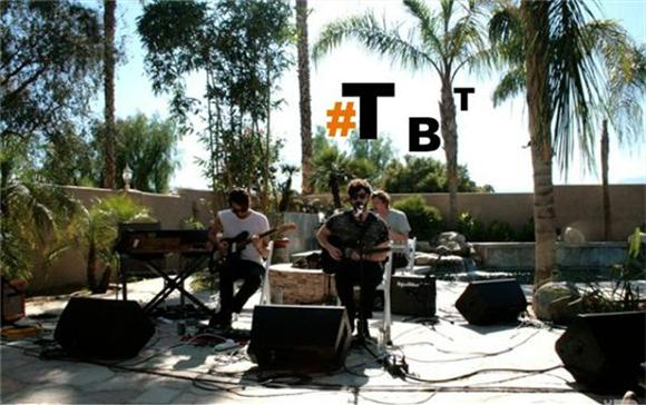 Throwback Thursday: Festival Fever Session With Foals at Coachella