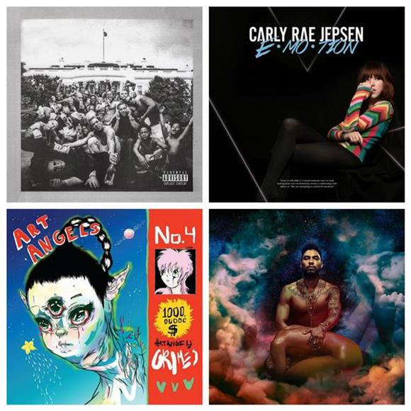 Baeble's Top 10 Albums Of 2015