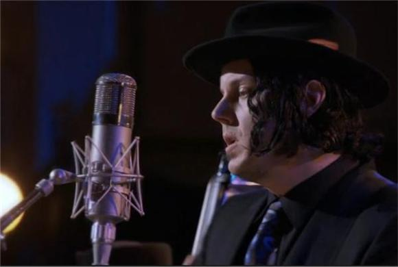 Jack White Performs 'We're Going to Be Friends' For Coen Bros