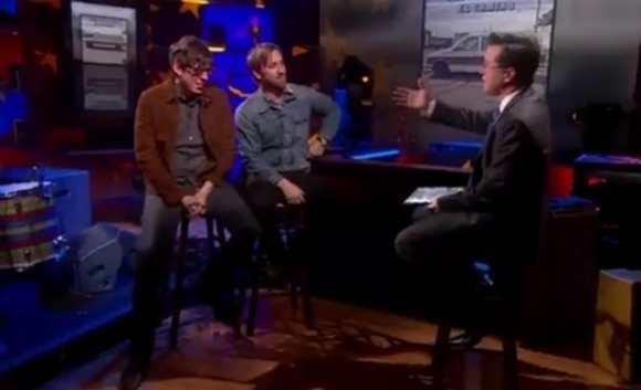 Watch: The Black Keys On Colbert