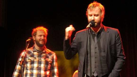 Watch: The National And Bon Iver