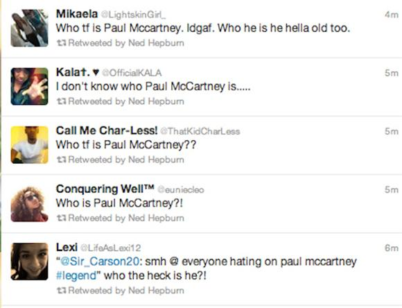 Pic of the Day: Who Is Paul McCartney?