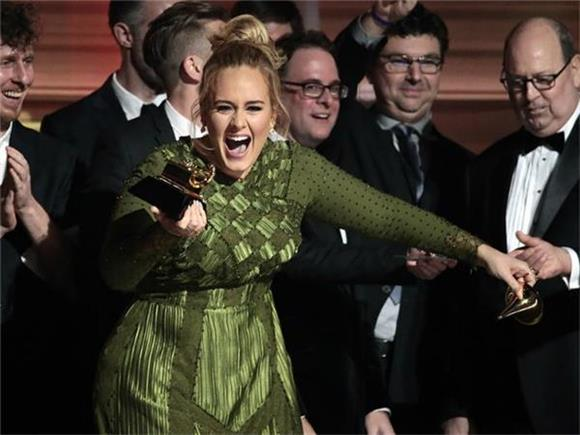 Adele is a Role Model, Her Acceptance Speeches at Last Night's Grammys Prove It