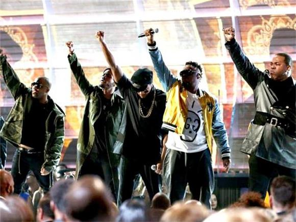 A Tribe Called Quest's Politically Charged Performance Reached the Right Audience