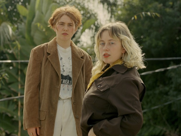 Girlpool Puts on a Living Room Show at Brooklyn Steel