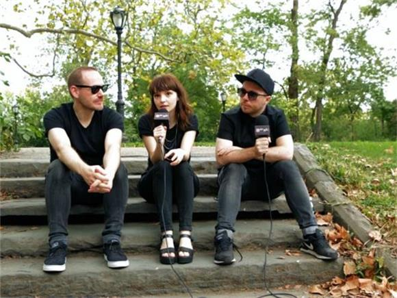 Now Playing: CHVRCHES - Behind The Scenes at Central Park Summer Stage