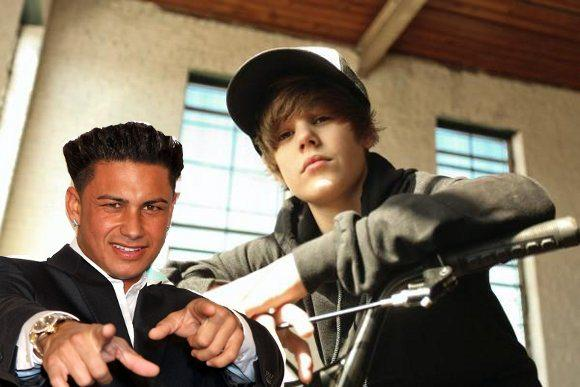 pauly d becomes bieber