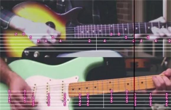 Real Estate Share 'Crime' Guitar Tabs Video