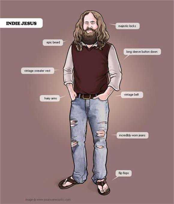 image of the day: indie jesus